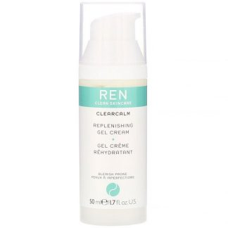 Ren Skincare, ClearCalm, Replenishing Gel Cream, 1.7 fl oz (50 ml)