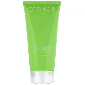 Cane + Austin, Glycolic Gelee Mask + Cleanser, 10% Glycolic Acid, 6.7 oz (200 ml)