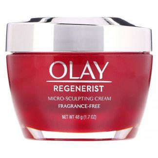 Olay, Regenerist, Micro-Sculpting Cream, Fragrance-Free, 1.7 oz (48 g)