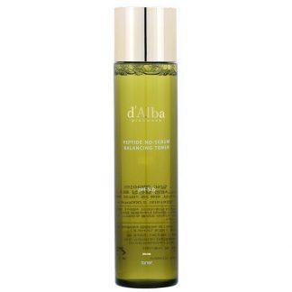 d'Alba, Peptide No-Sebum, Balancing Toner, 5.07 fl oz (150 ml)