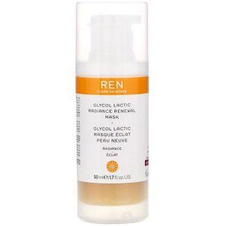 Ren Skincare, Glycol Lactic, Radiance Renewal Mask, 1.7 fl oz (50 ml)