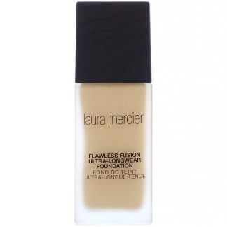 Laura Mercier, Flawless Fusion, Ultra-Longwear Foundation, 4W1.5 Tawny, 1 fl oz (30 ml)