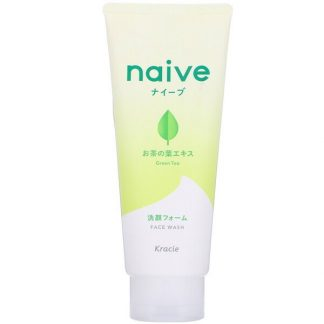 Kracie, Naive, Face Wash, Green Tea, 4.5 oz (130 g)