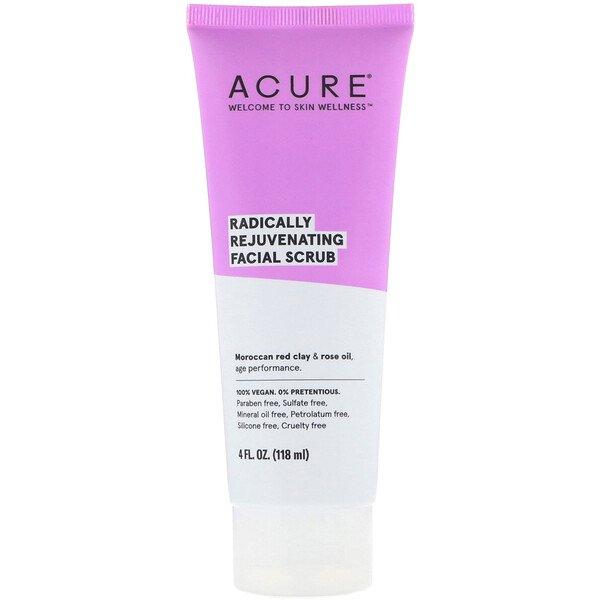 Acure, Radically Rejuvenating Facial Scrub, 4 Fl Oz (118 Ml) 1