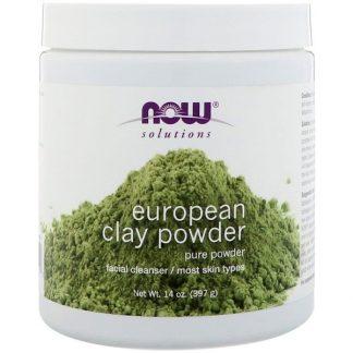 Now Foods, Solutions, European Clay Powder, 14 oz (397 g)