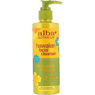 Alba Botanica, Hawaiian Facial Cleanser, Pore Purifying Pineapple Enzyme, 8 fl oz (237 ml)