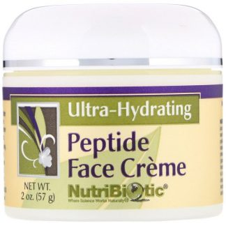 NutriBiotic, Peptide Face Creme, Ultra-Hydrating, 2 oz (57 g)
