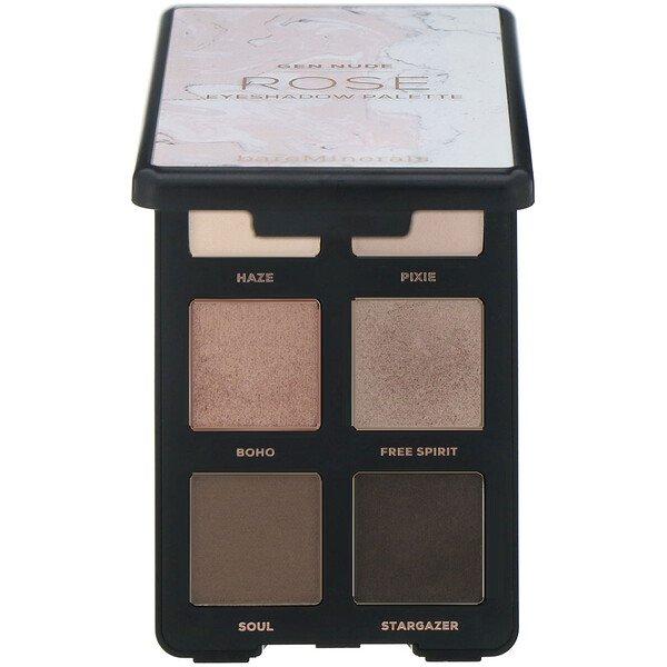 bareMinerals, GEN NUDE, Eyeshadow Palette, Rose, 0.18 oz (6.6 g)