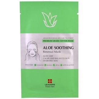 Leaders, Aloe Soothing Renewal Mask, 1 Sheet, 25 ml
