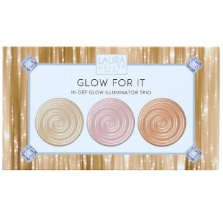 Laura Geller, Glow For It, Hi-Def Glow Illuminator Trio, 0.04 oz (1.2 g) Each