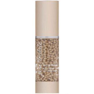 Jane Iredale, Liquid Minerals, A Foundation, Warm Silk, 1.01 fl oz (30 ml)