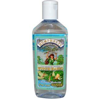 Humphrey's, Redness Reducing Facial Toner, Cucumber Melon Witch Hazel, Alcohol Free, 8 fl oz (237 ml)