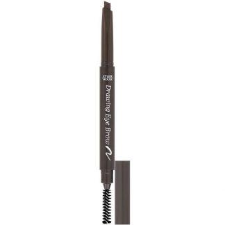 Etude House, Drawing Eye Brow, Dark Brown #01, 1 Pencil