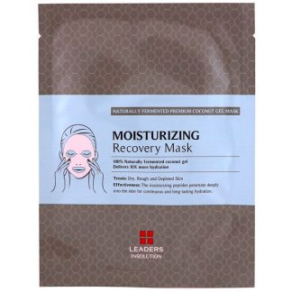 Leaders, Coconut Gel Moisturizing Recovery Mask, 1 Sheet, 30 ml