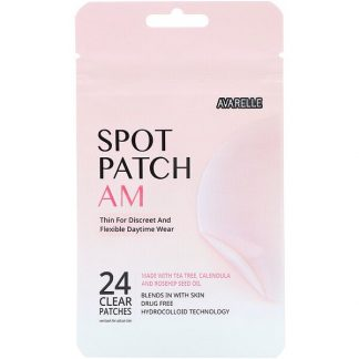 Avarelle, Spot Patch AM, 24 Clear Patches