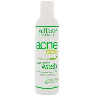 Alba Botanica, Acne Dote, Deep Pore Wash, Oil-Free, 6 fl oz (177 ml)