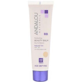 Andalou Naturals, BB Perfecting Beauty Balm, Age Defying, SPF 30, Natural Tint, 2 fl oz (58 ml)