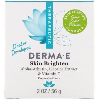 Derma E, Skin Brighten, 2 oz (56 g)