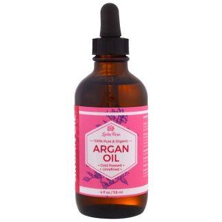 Leven Rose, 100% Pure & Organic Argan Oil, 4 fl oz (118 ml)