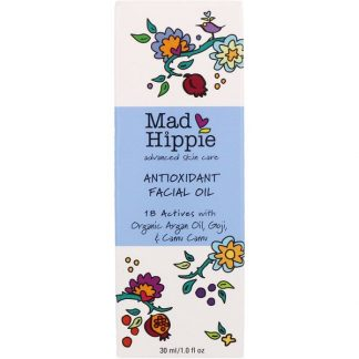 Mad Hippie Skin Care Products, Antioxidant Facial Oil, 1.0 fl oz (30 ml)