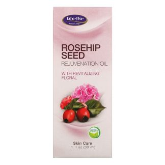 Life-flo, Rosehip Seed Rejuvenation Oil with Revitalizing Floral, 1 fl oz (30 ml)