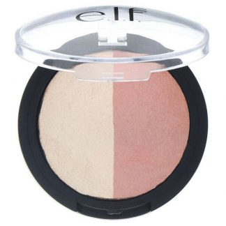 E.L.F., Baked Highlighter & Blush, Rose Gold, 0.18 oz (5 g)