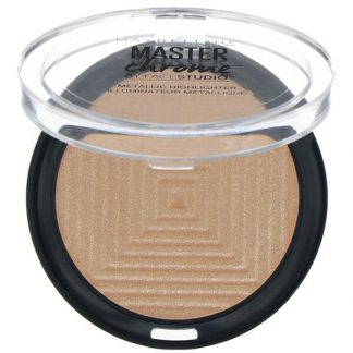 Maybelline, Master Chrome, Metallic Highlighter, Molten Topaz 200, 0.24 oz (6.7 g)