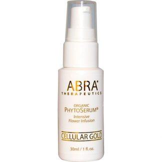 Abra Therapeutics, Organic PhytoSerum, Intesive Flower Infusion, Cellular Gold, 1 fl oz (30 ml)