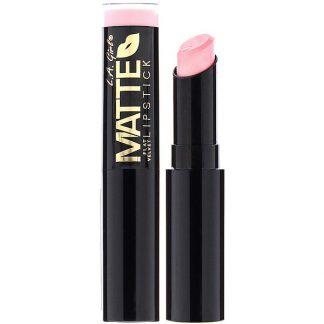 L.A. Girl, Matte Flat Velvet Lipstick, Carried Away, 0.10 oz (3 g)