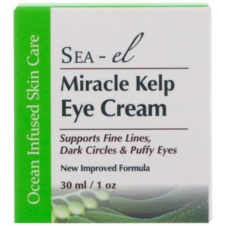 Sea el, Miracle Kelp Eye Cream, 1 oz (30 ml)