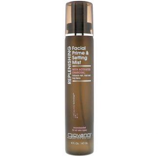 Giovanni, Replenishing, Facial Prime & Setting Mist, 5 fl oz (147 ml)