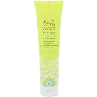 Pacifica, Kale Detox, Deep Cleansing Face Wash, 5 fl oz (147 ml)
