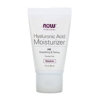 Now Foods, Solutions, Hyaluronic Acid Moisturizer, 2 fl oz (59 ml)