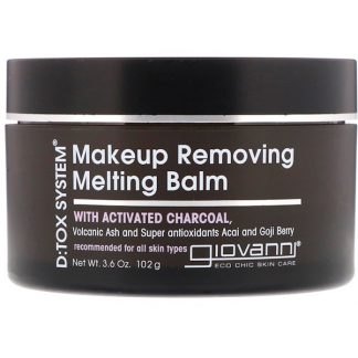 Giovanni, D:tox System, Makeup Removing Melting Balm, 3.6 oz (102 g)
