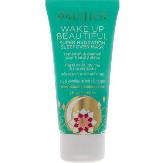 Pacifica, Wake Up Beautiful, Super Hydration Sleepover Mask, 2 fl oz (59 ml)
