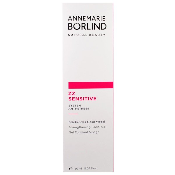 AnneMarie Borlind, ZZ Sensitive, Strengthening Facial Gel, 5.07 fl oz (150 ml)