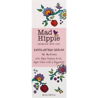 Mad Hippie Skin Care Products, Exfoliating Serum, 16 Actives, 1.02 fl oz (30 ml)