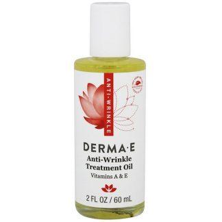 Derma E, Anti-Wrinkle Vitamin A & E Treatment Oil, 2 fl oz (60 ml)