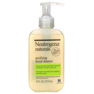 Neutrogena, Neutrogena, Naturals, Purifying Facial Cleanser, 6 fl oz (177 ml)
