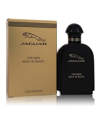 JAGUAR GOLD IN BLACK EDT FOR MEN